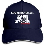 Owned God Bless You All,Together We are Stronger Baseball Caps Adjustable Sandwich Caps Sandwich Caps One Size B08CZ89HCV