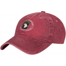 101st Airborne US Army Hat 101st Airborne Division Baseball Cap Sun Protection Trucker Dad Hat 7-7 3 8 B0963LY5HT