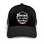 Blessed to Be Called Maw Maw Baseball Caps Adult Adjustable Cap Breathable Mesh Cap Black  B095VMW13M